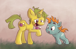 It's Snips and Snails! by InkyFirefly