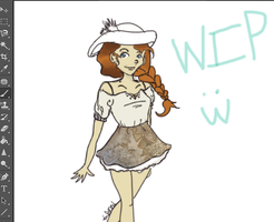 Yet Another Marvelous W.I.P by olokp