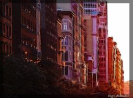 Heat wave on NYC by digitalminded