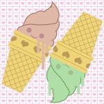 Twin Cute Cones by misterzubair