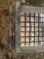 Castle Window by Lusitana-Stock