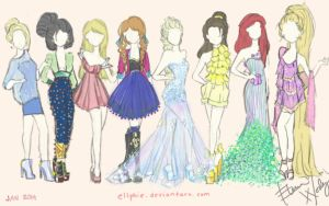 Disney Fashion by Ellphie