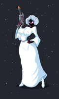 Martian princess by Lordstevie