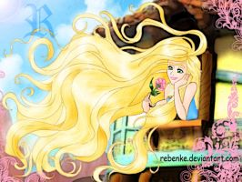 Rapunzel disney dreams by rebenke
