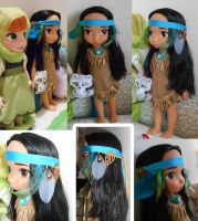 Pocahontas New Look by FrancescaROTG