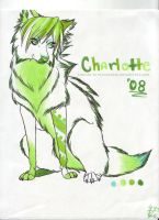 charlotte-plaguedog lineart by BiTTENwolf