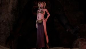 Juliet Leia Slave Girl Outfit by ShittyHorsey