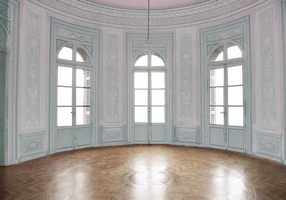 Empty Room - Castle - Pink and Light Blue - Transp by Quryous