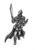 Commissar, from perspective of heretics by Shade-os