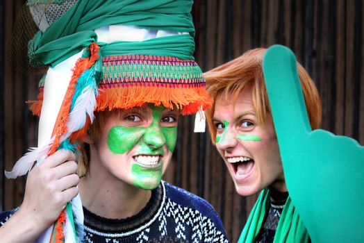 Fred n George Irish Supporters by Soul-Lux