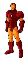 Teen Tony Iron Man by GuyverC