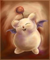 Crystal Chronicles Moogle by GoblinQueeen