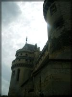 Castle Of Pierrefonds by Cleobuline