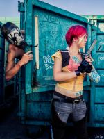 Borderlands: Psycho is after Lilith! by SNTP