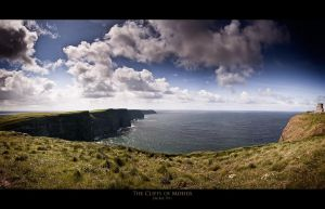 The Cliffs of Moher by geckokid