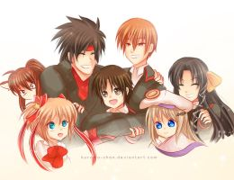 -- Little Busters Quick Sketch -- by Kurama-chan