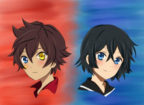 Little Andy And Hyoubu THE UNLIMITED by x-Sneering-Blaze-x