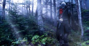 Drow Male by newpaen