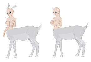 Pixel Doll Base - Doe Centaur by umrae