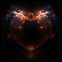 Heart Of Glass by Brigitte-Fredensborg