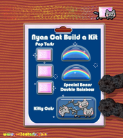 Nyan Cat Build A Kit by EvilCatArts