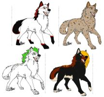New Adoptables C:-OPEN by runningfreely
