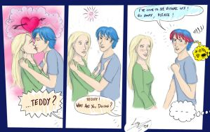 Teddy and Victoire by Loony-Lucy