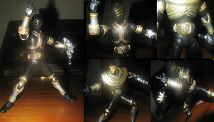 CUSTOM: SH gold ranger by Emerald-shine