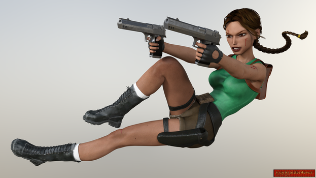 Classic Raider 76 by tombraider4ever