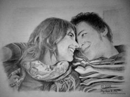 Drawing My Love and Myself by Pwn4g3r