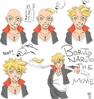 How To Make Boruto Hair by Jira89