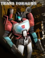 AUTOBOT PERCEPTOR by Kagamilei