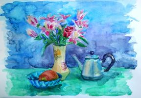Spring still life by metaspade