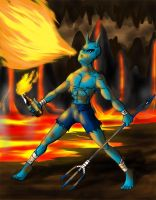Blue Devil by NewEraOutlaw