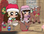 Christmas Bakery Coloring Contest by cherie-stenson