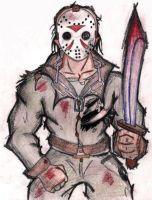 Jason Voorhees by GreenHent