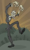 Zombie Lincoln Rides Again by gloriouskyle