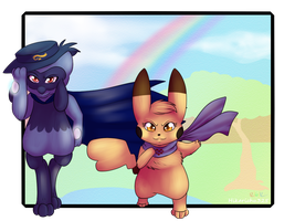 .:AT:. Beneath the Rainbow by Porygoon