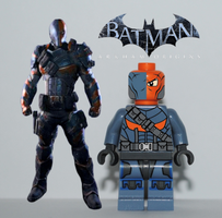 LEGO Deathstroke by SaariCorporation