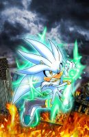 Silver the Hedgehog For Archie by SterlingQuinn