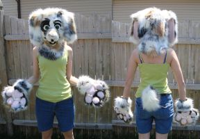 Bunny partial suit by Nevask