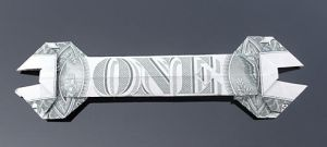 Dollar Bill Wrench by craigfoldsfives
