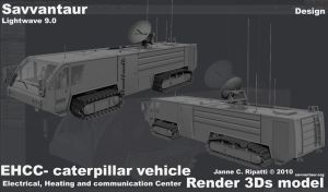 EHCC- caterpillar vehicle by chameleon-unwf