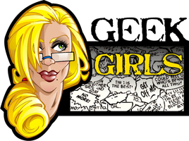 Geek Girls Logo by TheInkPages