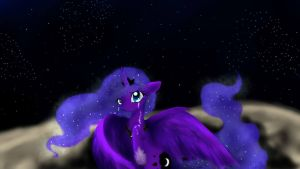 Luna Wont You Cry For Me (Draw This Again) by Ambercatlucky2
