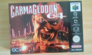 Carmageddon 64 sealed - front by WarriorRazor