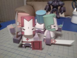 Castle Crashers by azn-ninja