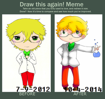 Draw This Again! Meme [Stangun Edition] by irenereru
