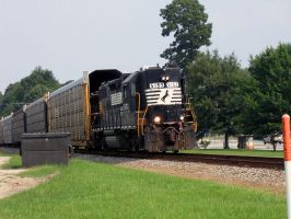 Norfolk Southern GP-38-2 5153 by starshipangel