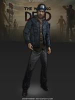 Nate - The Walking Dead - 400 Days by JhonyHebert